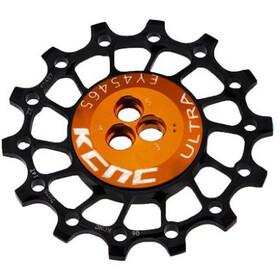KCNC Asymmetrical Jockey Wheel 12T Narrow Wide for 11/12-speed Shimano/SRAM, black